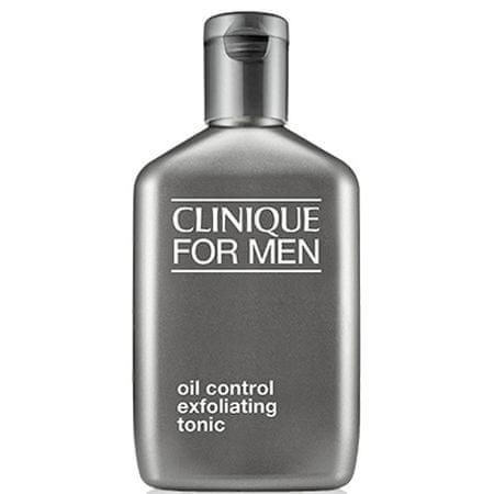 Clinique For Men hámlasztó tonik zsíros bőrre(Oil Control Exfoliating Tonic) 200 ml