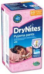 Huggies DryNites kalhotkové pleny pro dívky 3-5 let (16-23kg), 10ks