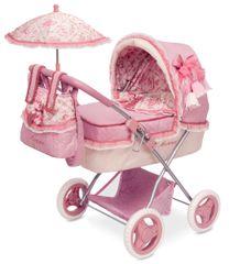 DeCuevas Martina M składany wózek dla lalek z parasolem