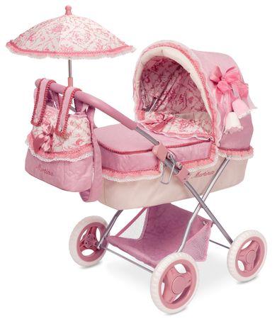 DeCuevas sklopiva kolica za lutke bebe s kišobranom Martina M