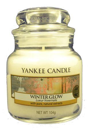Yankee Candle Classic kis 104 g Winter Glow