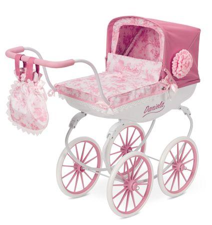 DeCuevas zložljiv otroški voziček za lutko dojenčka z dežnikom Daniela 2017 M