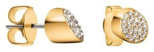 Calvin Klein Pozlačeni uhani s kristali BrilliantKJ8YJE140100