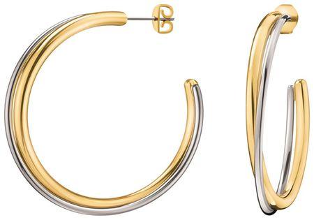 Calvin Klein Bicolor kerek fülbevaló dupla KJ8XJE200100