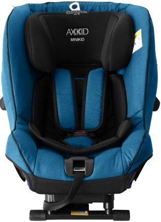 AxKid vzvratni otroški avtosedež MiniKid 2.0. (0-25 kg), moder