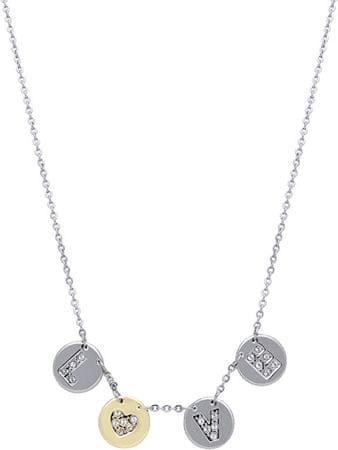 Morellato Stalowy naszyjnik z monet Monetine SAHQ01