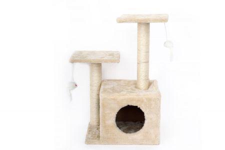 Sifcon Drapak dla kota 36x63 cm, kremowy