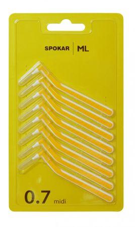 SPOKAR Mezizubní kartáček ML 0,7 mm 8 ks
