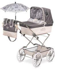 DeCuevas zložljiv otroški voziček za lutko dojenčka z dežnikom Reborn 2017-V