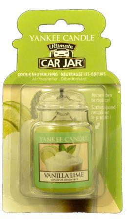 Yankee Candle Vanilla Lime luxus autóillatosító pálca