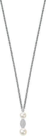 Morellato Srebrna ogrlica Pearl SANH08 (veriga, obesek) srebro 925/1000