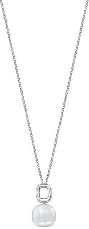 Morellato Lepa ogrlica, okrašena z mačjim očesom SAKK24 (veriga, obesek) srebro 925/1000