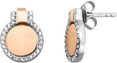 Esprit Ezüst kétszínű fülbevaló Fuse ESER00301200 ezüst 925/1000