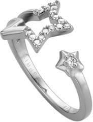 Esprit Srebrni prstan z zvezdami Vivid Star ESRG004511 srebro 925/1000