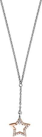 Esprit Srebrna ogrlica z zvezdo Vivid Star ESNL00451342 srebro 925/1000