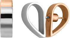 Esprit Dupla szív fülbevaló Passion ESER00442200