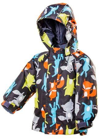 PIDILIDI dječja nepromočiva zimska bunda, 98, crna