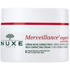 Nuxe Pleť AC ránctalanító krém a száraz bőrre Merveillance Expert Enrich IE (Rich Correcting Cream Visibl