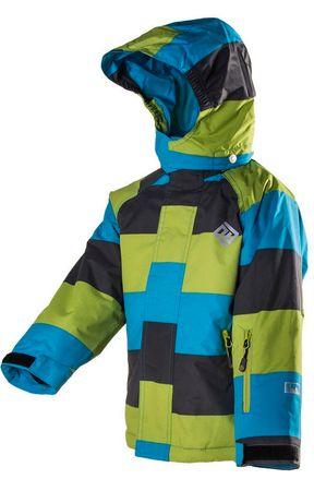 PIDILIDI dječja skijaška bunda, 140, plava/zelena