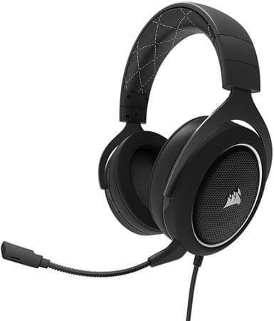 Corsair HS60, fekete/fehér (CA-9011174-EU)