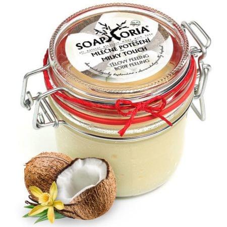 Soaphoria Természetes testradír Milk öröm (Milky Touch testradír) 255 ml