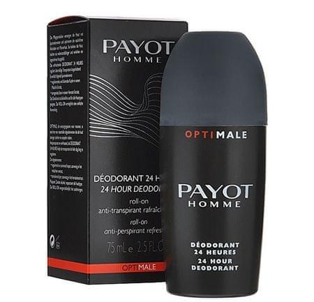 Payot Odświeżanie rolowania przeciwpotowo Mężczyzna optimale (24 godziny) 75 ml dezodorant