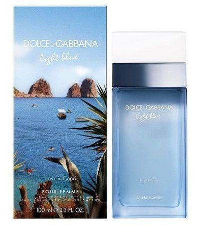 Dolce & Gabbana Light Blue Love In Capri Woman - woda toaletowa 50 ml