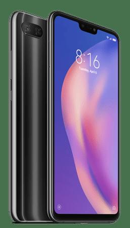 Xiaomi Mi 8 Lite, 4 GB / 64 GB, Global Version, Midnight Black