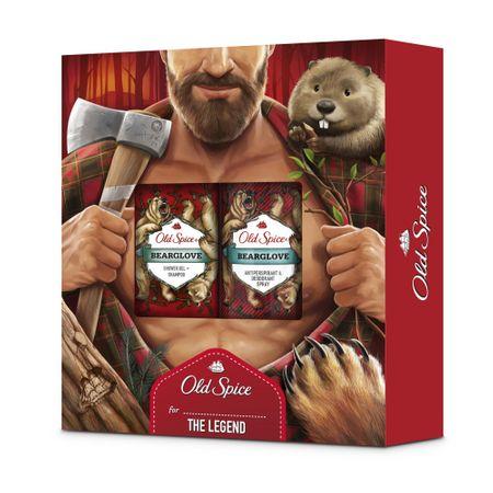Old Spice zestaw dla prawdziwego mężczyzny Bearglove Lumberjack