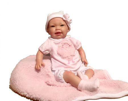 Nines 31061 TITA Lalka blond różowa