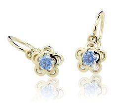 Cutie Jewellery Gyermek fülbevaló C2204-10 sárga arany 585/1000