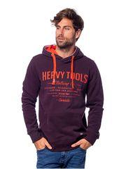 Heavy Tools Férfi melegítő felső Sparwood W18-214 Berry