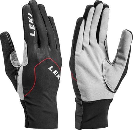 Leki rokavice Nordic Skin Black-Red-Grahpite Size, 9