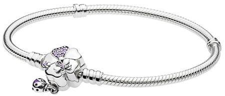 Pandora Virágos rét ezüst karkötő 597124NLC (hossz 17 cm) ezüst 925/1000