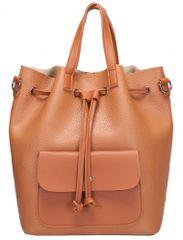 Claudia Canova dámský oranžový batoh Kagan
