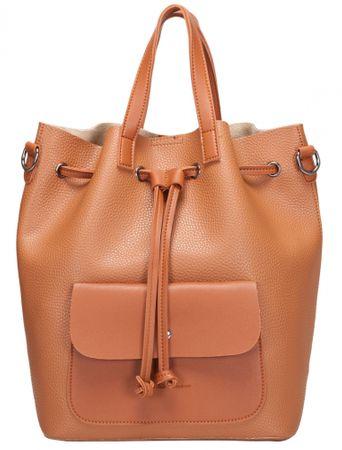 Claudia Canova Kagan narancssárga női hátizsák