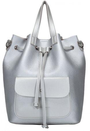 Claudia Canova Kagan ezüst női hátizsák