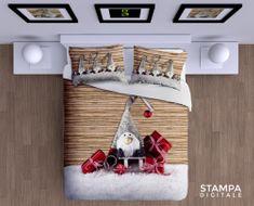 Gipetex pamučna posteljina Gnomo 3D