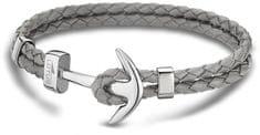 Lotus Style Bőr karkötő horgonnyal LS1832-2/3