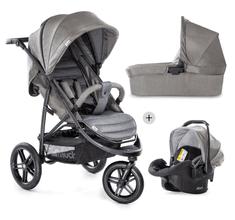 Hauck otroški voziček Rapid 3R Trioset 2019 charcoal