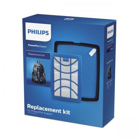 Philips zestaw filtrów do odkurzaczy PowerPro Expert FC8003/01