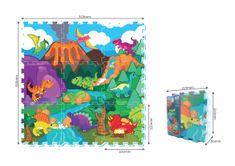 MaDe Puzzle penové - dinosaury