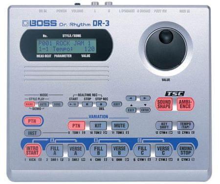 BOSS DR-3 Automatický bubeník