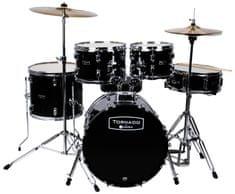 Tornado Junior Set Dark black Detská súprava bicích
