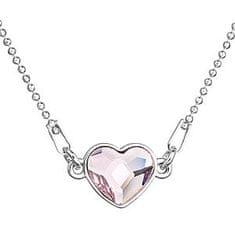 Evolution Group Náhrdelník Srdce 32061.3 rosaline stříbro 925/1000