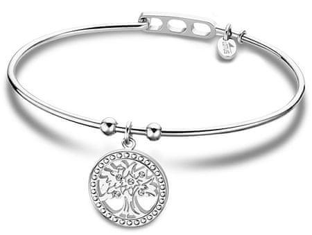 Lotus Style Solid Steel Bracelet Életfa LS2015-2 / 3