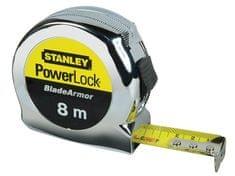Stanley meter Powerlock, 8m/25mm, kovinski