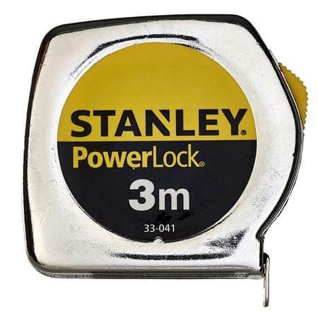 Stanley meter Powerlock, metal, 3m
