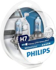 Philips žarnica Halogen H7 12V + W5W White Vision (Xenon efekt)