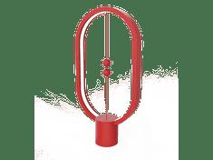 Allocacoc Heng Balance lampa Plastic Ellipse USB, červená - rozbalené